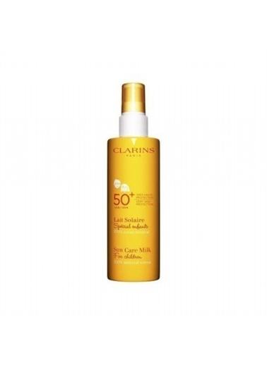 Clarins Sun Care Milk For Chıldren %100 Mineral Screen Spf50 150 Ml Renksiz